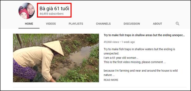 Hiện tượng YouTube Bà già 61 tuổi vẫn làm vlog ngầu như giới trẻ, 1 tuần kiếm triệu view và 45.000 sub - Ảnh 1.