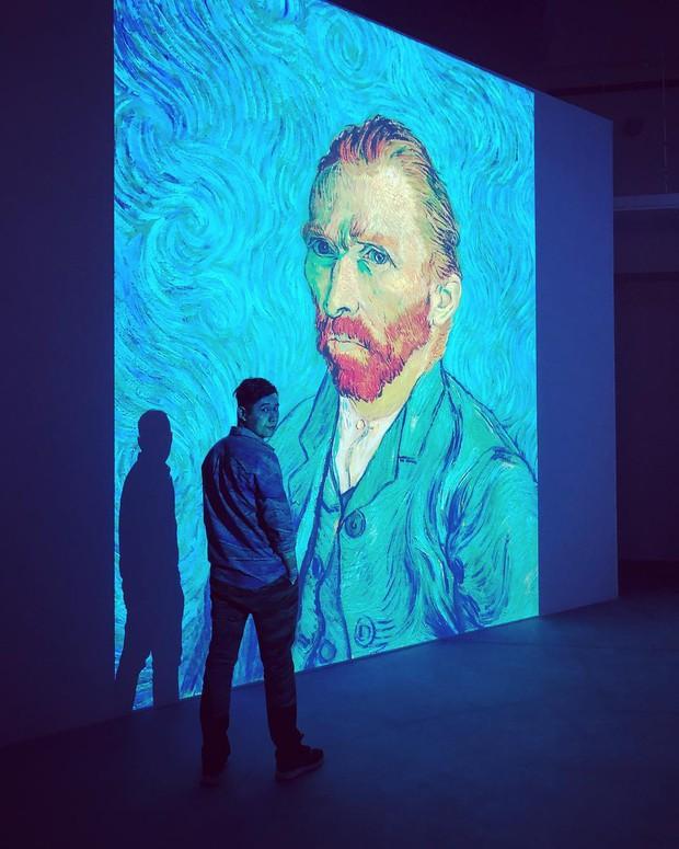Đến hẹn lại lên, giới trẻ Hà Nội đang rủ nhau check-in tại VCCA nhân dịp triển lãm tranh Van Gogh - Ảnh 12.