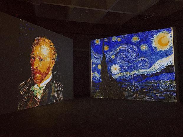 Đến hẹn lại lên, giới trẻ Hà Nội đang rủ nhau check-in tại VCCA nhân dịp triển lãm tranh Van Gogh - Ảnh 1.