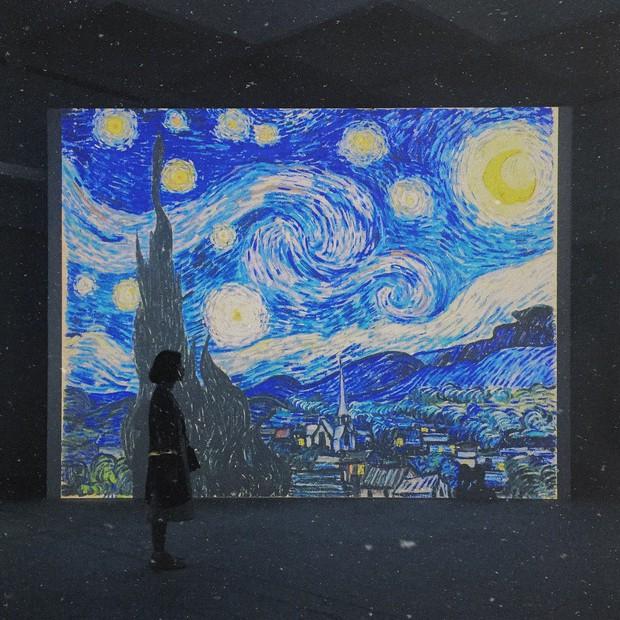 Đến hẹn lại lên, giới trẻ Hà Nội đang rủ nhau check-in tại VCCA nhân dịp triển lãm tranh Van Gogh - Ảnh 2.