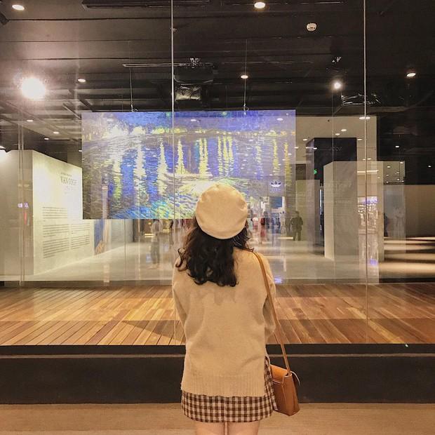 Đến hẹn lại lên, giới trẻ Hà Nội đang rủ nhau check-in tại VCCA nhân dịp triển lãm tranh Van Gogh - Ảnh 4.
