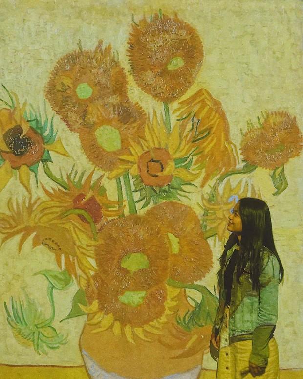 Đến hẹn lại lên, giới trẻ Hà Nội đang rủ nhau check-in tại VCCA nhân dịp triển lãm tranh Van Gogh - Ảnh 6.