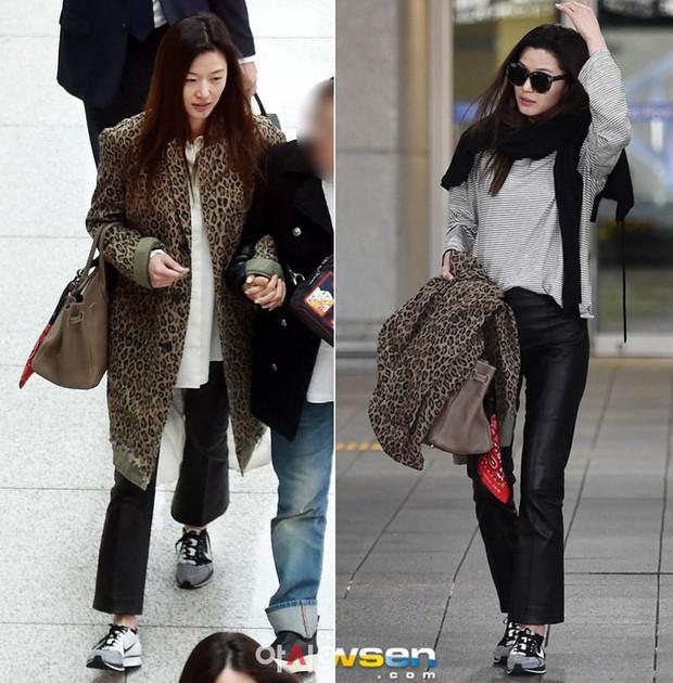 """Chưa cần trang điểm hay ăn vận lồng lộn, Jeon Ji Hyun đã """"auto sang chảnh"""" chỉ nhờ đeo kính râm - Ảnh 5."""