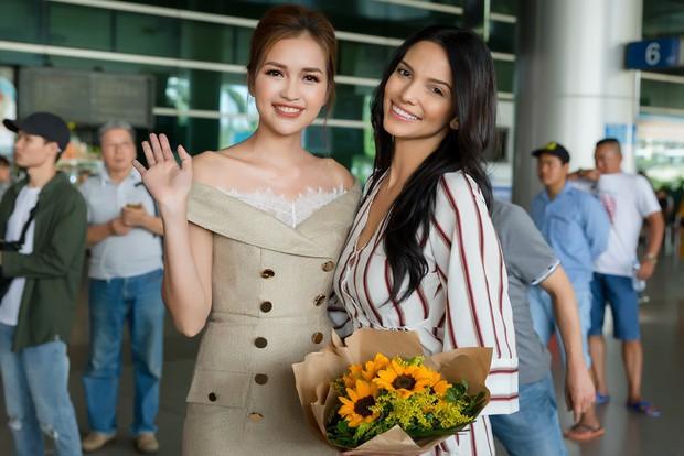 Mỹ nhân đánh bại Minh Tú đăng quang Miss Supranational khoe nhan sắc rạng rỡ ở sân bay Việt Nam - Ảnh 5.
