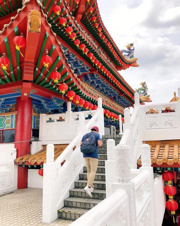 Phát hiện triệu góc check-in thần thánh ở ngôi chùa đèn lồng hot nhất Kuala Lumpur - Ảnh 13.