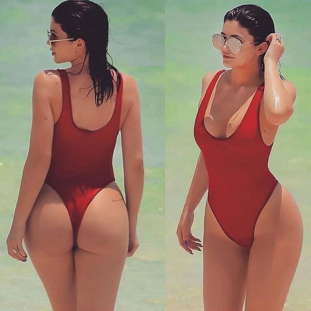 Gây bão vì khoe vòng eo siêu thon có múi sau sinh, Kylie Jenner có bí quyết gì mà lấy lại vóc dáng siêu đến vậy? - Ảnh 3.