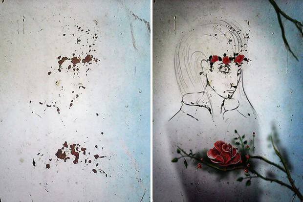 Trải qua ảo giác khuôn mặt Pareidolia ở mọi nơi, họa sĩ Nga bèn vẽ lại cho mọi người cùng xem - Ảnh 13.