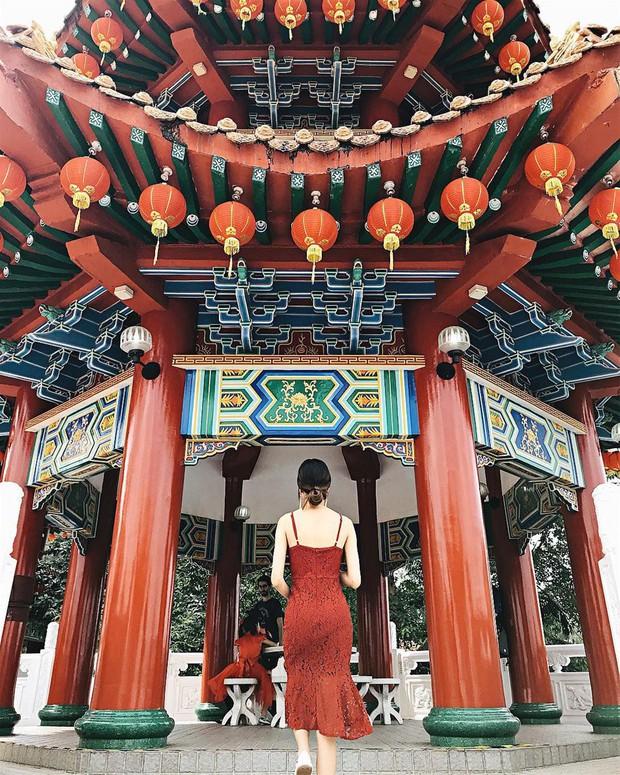 Phát hiện triệu góc check-in thần thánh ở ngôi chùa đèn lồng hot nhất Kuala Lumpur - Ảnh 5.
