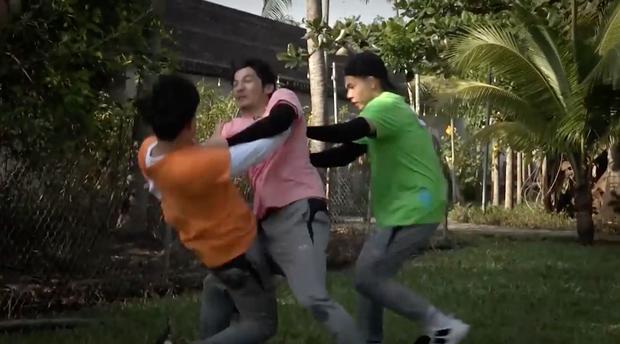 Running Man Vietnam tung clip nhá hàng: Dàn sao Việt vật lộn, xé bảng nhau cực căng! - Ảnh 5.
