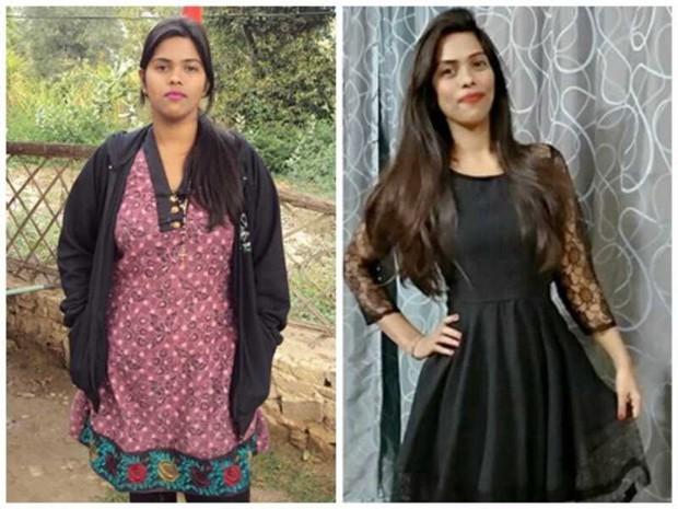 Từ 80kg xuống 55kg, cô gái Ấn Độ gây bất ngờ vì làm được điều mà nhiều người tưởng là không thể - Ảnh 1.