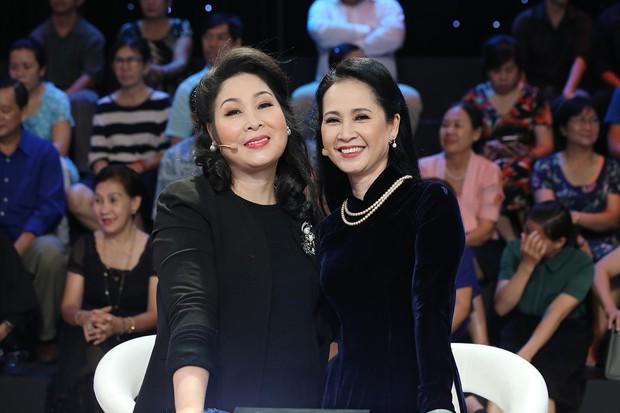 Lan Hương, Hồng Vân - 2 bà mẹ đáng sợ nhất màn ảnh Việt hội ngộ trên truyền hình - Ảnh 3.