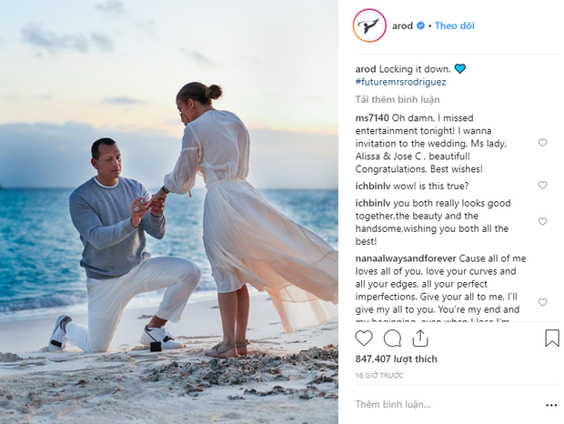 Sau khi khoe nhẫn siêu khủng, Jennifer Lopez tiếp tục gây ghen tị vì loạt ảnh cầu hôn đẹp như phim ngôn tình - Ảnh 2.