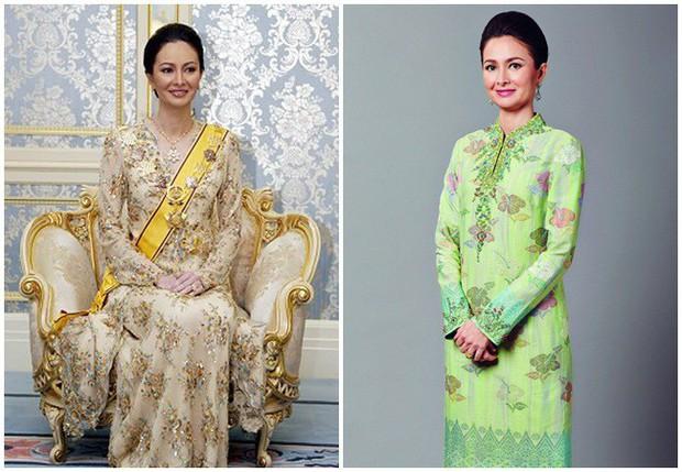 Nhan sắc diễm lệ ít ai biết của Hoàng hậu Malaysia, quen nhau 8 năm mới chịu cưới khi nhà vua đã 50 tuổi - Ảnh 2.