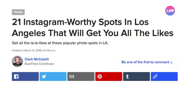 Minh Hằng bất ngờ xuất hiện trên trang BuzzFeed nhờ vào tấm hình du lịch Mỹ siêu ảo - Ảnh 4.