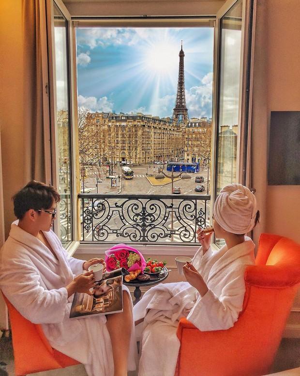 Từ ca sĩ, hot girl cho đến hội rich kids, ai cũng đổ xô đến Paris check-in nhiệt tình trong những ngày vừa qua - Ảnh 14.