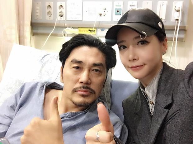 Nam diễn viên Hoàng hậu Ki gây sốc vì tiết lộ mắc bệnh ung thư hiếm gặp, đã cắt bỏ khối u dài 30cm - Ảnh 1.