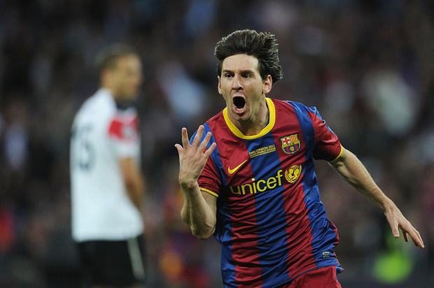 Lionel Messi: Hung thần diệt Man Utd trong hai trận chung kết Champions League - Ảnh 1.