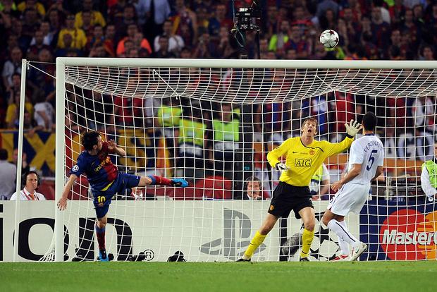 Lionel Messi: Hung thần diệt Man Utd trong hai trận chung kết Champions League - Ảnh 2.