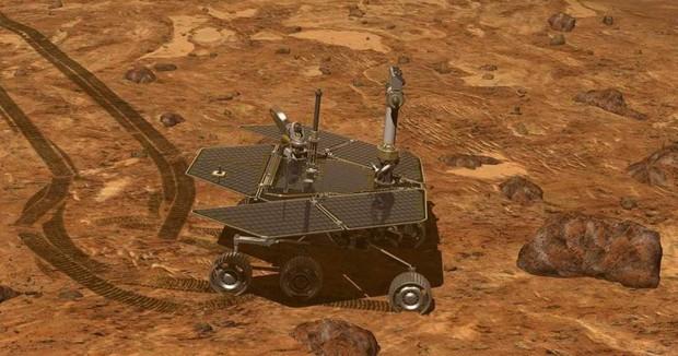 Đây là bức hình cuối cùng robot Opportunity của NASA chụp được, và nó khiến cộng đồng mạng đau lòng - Ảnh 1.