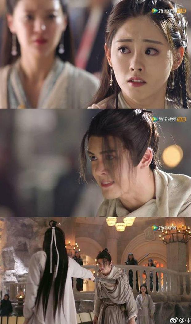 Tân Ỷ Thiên Đồ Long Ký được remake 8 lần, nhưng cảnh Chu Chỉ Nhược đâm Trương Vô Kỵ một kiếm vẫn nhận gạch - Ảnh 3.