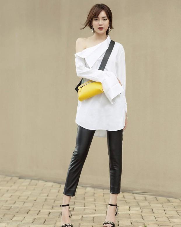 Đụng độ gam màu trắng, 2 hot mom Hà Tăng - Đặng Thu Thảo chiếm sóng trong street style tuần này - Ảnh 9.