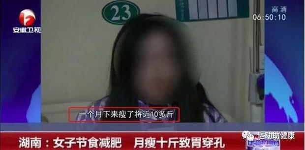 Cô gái 34 tuổi bị thủng dạ dày vì cố sức giảm cân theo cách thiếu lành mạnh - Ảnh 1.