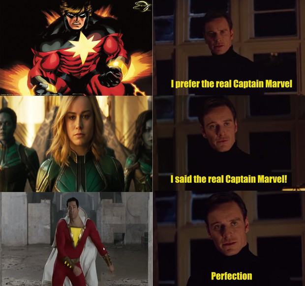 Shazam của DC và Captain Marvel của Marvel, ai mới là Captain Marvel thực thụ? - Ảnh 1.