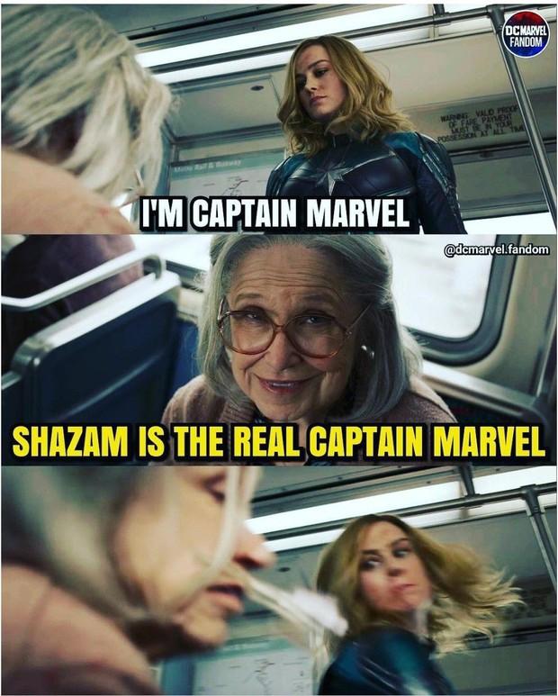 Shazam của DC và Captain Marvel của Marvel, ai mới là Captain Marvel thực thụ? - Ảnh 2.
