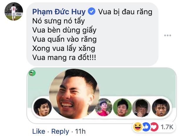 Dù đau đớn vì bị răng ngu hành, Đức Huy vẫn lầy lội xin vé xem U23 Việt Nam của đàn em - Ảnh 8.