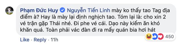Dù đau đớn vì bị răng ngu hành, Đức Huy vẫn lầy lội xin vé xem U23 Việt Nam của đàn em - Ảnh 3.