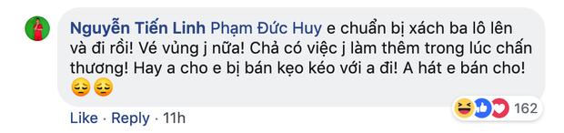 Dù đau đớn vì bị răng ngu hành, Đức Huy vẫn lầy lội xin vé xem U23 Việt Nam của đàn em - Ảnh 4.
