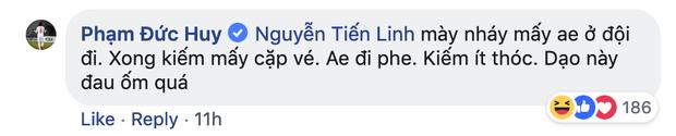 Dù đau đớn vì bị răng ngu hành, Đức Huy vẫn lầy lội xin vé xem U23 Việt Nam của đàn em - Ảnh 5.