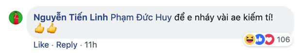 Dù đau đớn vì bị răng ngu hành, Đức Huy vẫn lầy lội xin vé xem U23 Việt Nam của đàn em - Ảnh 6.