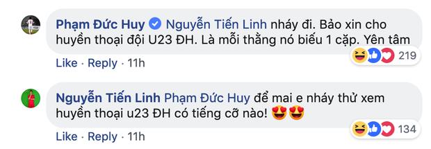 Dù đau đớn vì bị răng ngu hành, Đức Huy vẫn lầy lội xin vé xem U23 Việt Nam của đàn em - Ảnh 7.