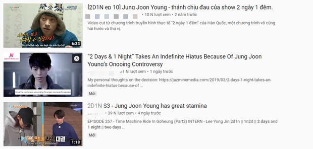 Không chỉ bị gạch tên khỏi show, các clip cũ có sự tham gia của Jung Joon Young đang dần bị xóa sạch - Ảnh 4.