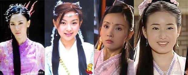 Nghèo nàn khâu tạo hình, làm tóc, dàn mỹ nhân Tân Ỷ Thiên Đồ Long Ký như hóa chị em sinh bốn khó lòng phân biệt - Ảnh 7.