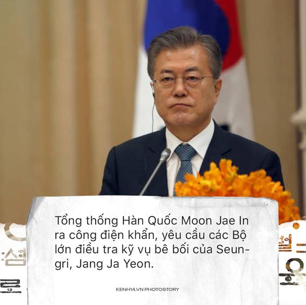 Scandal của Seungri ngày 18/3: Tổng thống Hàn Quốc chính thức lên tiếng, Jung Joon Young có lệnh bắt giữ - Ảnh 7.
