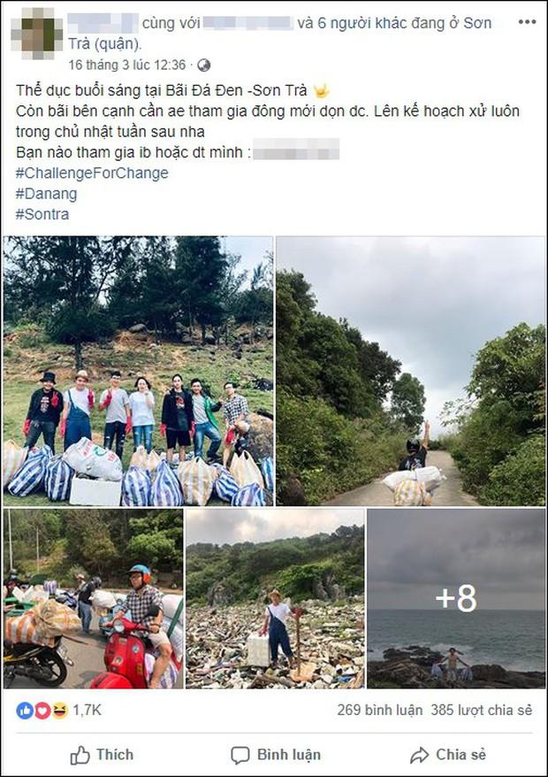 Thử thách dọn rác tại đảo Sơn Trà: Trả lại một bãi đá hoang sơ từ biển rác, tuyên truyền ý nghĩa về du lịch có trách nhiệm - Ảnh 2.