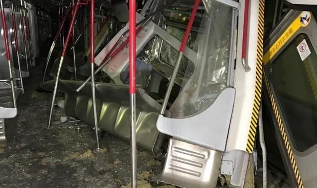 Tàu điện ngầm Hong Kong gặp sự cố tai nạn ngay khi áp dụng thử nghiệm mới  - Ảnh 3.