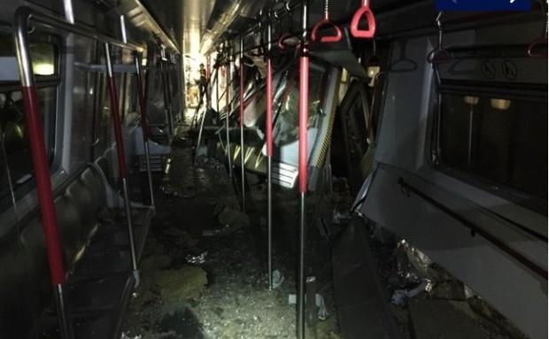 Tàu điện ngầm Hong Kong gặp sự cố tai nạn ngay khi áp dụng thử nghiệm mới  - Ảnh 2.