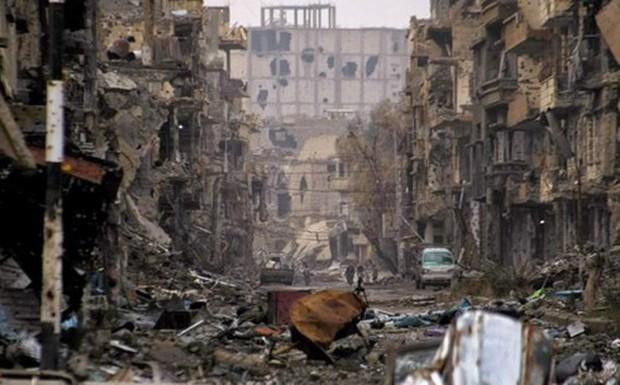 Syria: 17 người thiệt mạng do mìn của IS sót lại phát nổ - Ảnh 1.