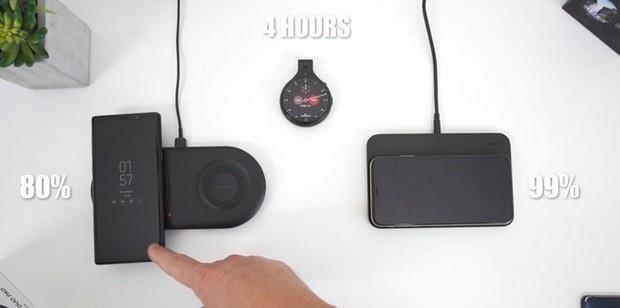 Đọ tốc độ sạc không dây của Galaxy S10+ và iPhone XS Max: Chiếc thì sạc đầy trong chưa đầy 2 tiếng, chiếc thì mất 4 tiếng - Ảnh 6.