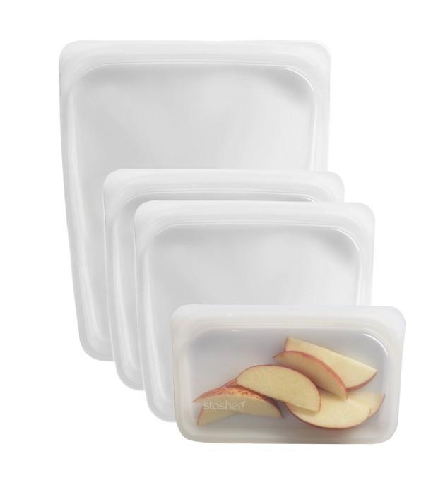 Túi silicone đựng đồ ăn thân thiện với môi trường: đậy kín, đẹp mê ly, đông đá tốt, quay lò vi sóng cũng an toàn - Ảnh 7.