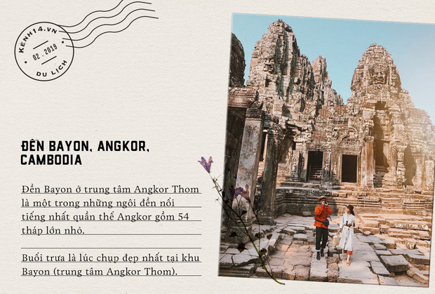 Trọn bộ bí kíp sống ảo tại Campuchia của hotgirl Hà Trúc: Đi vài bước lại chụp được một tấm ảnh là có thật! - Ảnh 5.