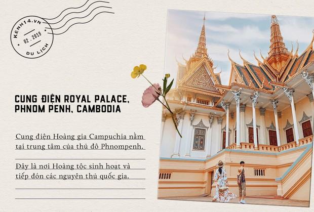 Trọn bộ bí kíp sống ảo tại Campuchia của hotgirl Hà Trúc: Đi vài bước lại chụp được một tấm ảnh là có thật! - Ảnh 1.