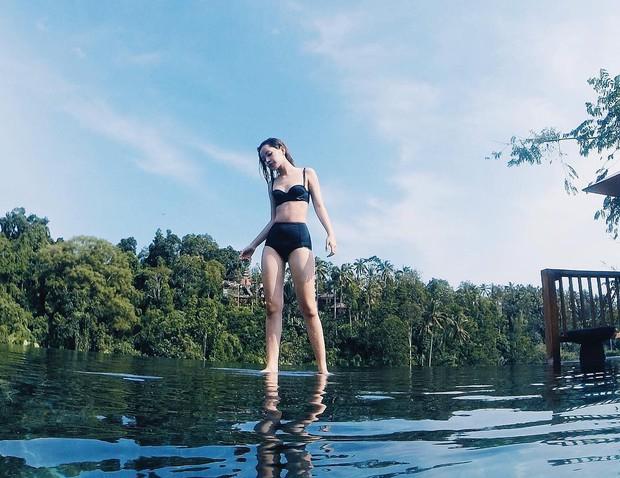 Chi Pu khoe ảnh diện bikini, body thay đổi đến bất ngờ khi đặt cạnh hình ảnh từ 2 năm trước - Ảnh 5.