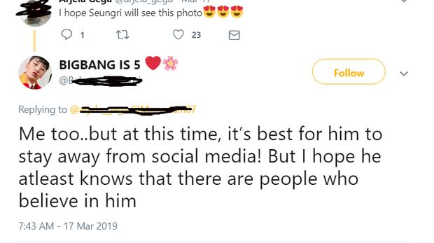 """Dân mạng """"khẩu chiến"""" gay gắt khi fan vẫn làm hành động này để ủng hộ Seungri sau chuỗi scandal chấn động - Ảnh 5."""