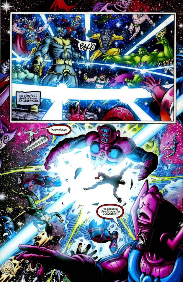 Hết hồn danh sách bại tướng dưới tay Thanos: Không chỉ mỗi nhóm Avengers, mà còn cả một bầu trời quái kiệt - Ảnh 4.