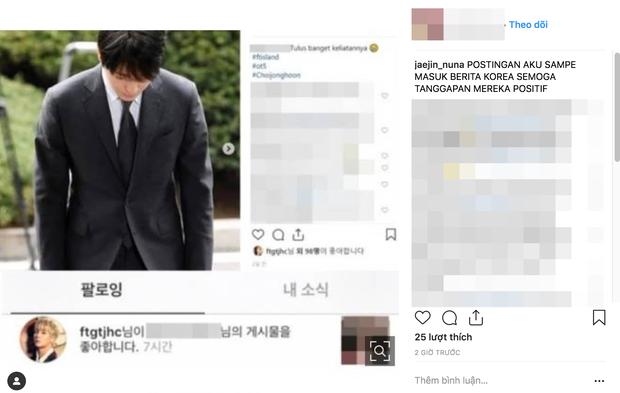 Sau 21 tiếng bị thẩm vấn, Choi Jong Hoon vẫn thản nhiên like dạo trên instagram như chưa từng có bê bối xảy ra - Ảnh 4.