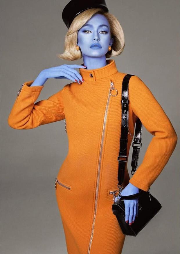 Germanys Next Top Model nhuộm da đủ màu sặc sỡ cho thí sinh nhưng sao thấy quen quen - Ảnh 3.